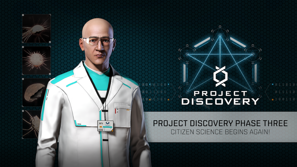 EVE online fight Covid-19 in new phase of citizen science initiative project discovery