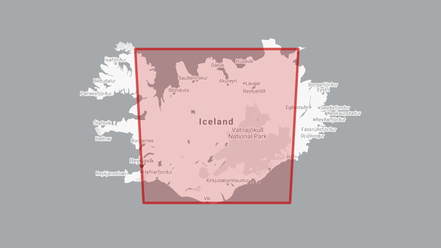 fire size iceland