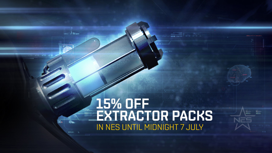 15 Off Selected Extractor Packs In The New Eden Store Eve Online