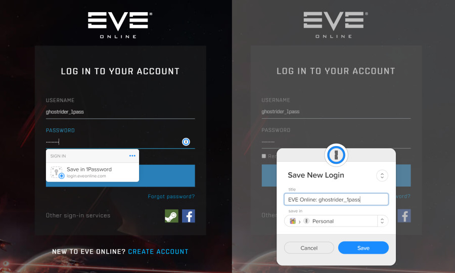 Account Security Improvements | EVE Online