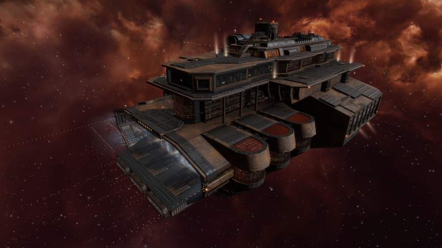 Minmatar Outpost 4k