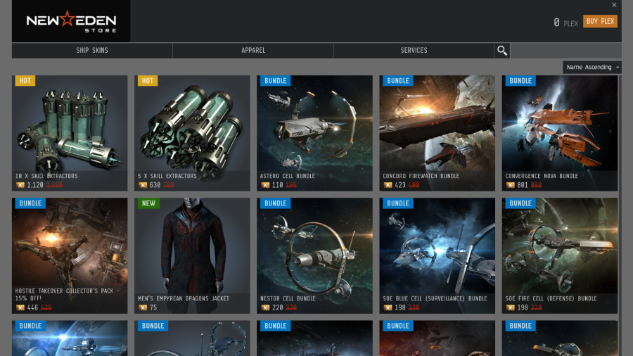 Changes Coming To The New Eden Store With The March Release Eve Online