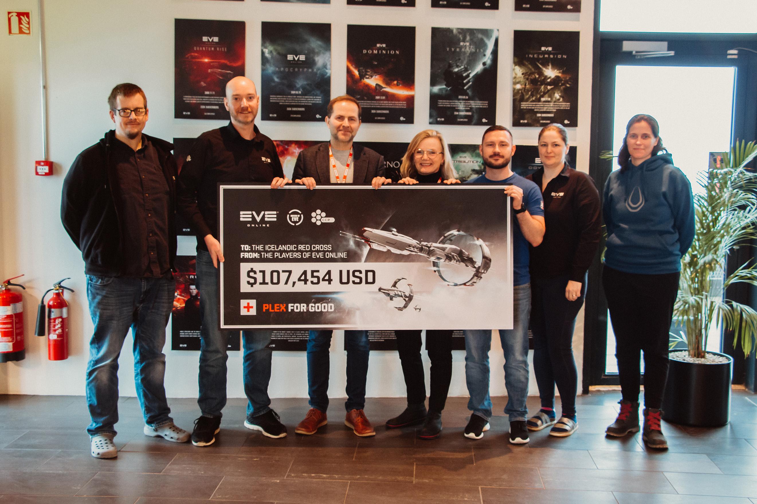 EVE Online — Игроки собрали более 100 тысяч долларов для помощи жителям Австралии