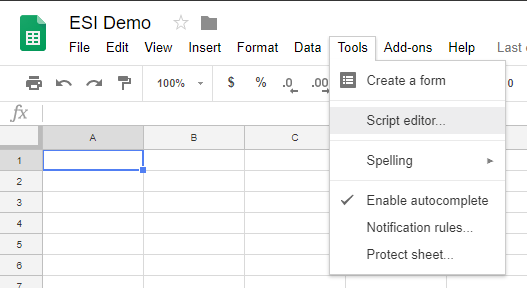 Using ESI With Google Sheets - EVE: Developers