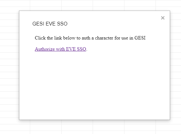 Authorize EVE SSO