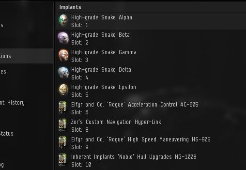 Eve slot 9 implants