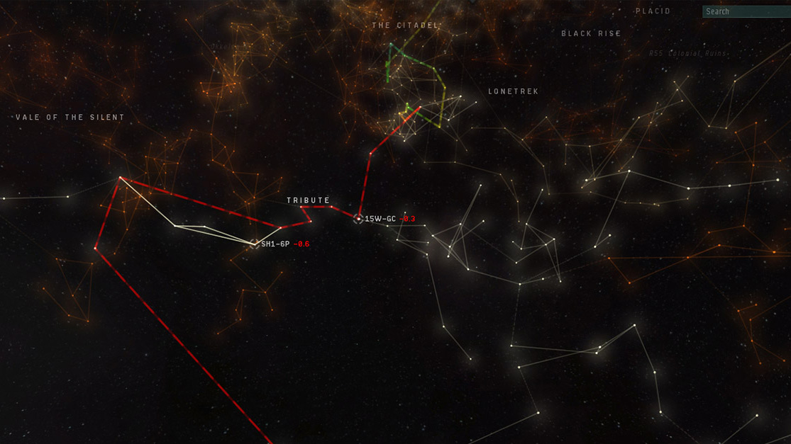 More Starmap Features Eve Updates